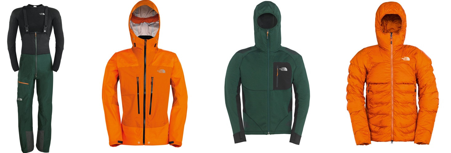 The North Face Meru Kit das innovativste Bergsteiger-Ausrüstungsset