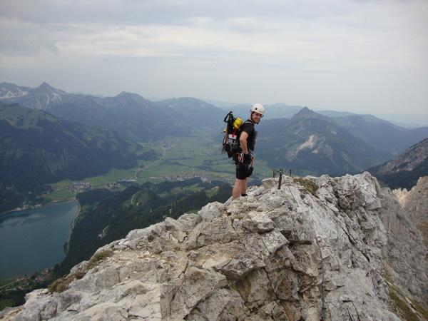 Klettersteig Tannheimer Tal : Tirol allgäuer alpen friedberger klettersteig