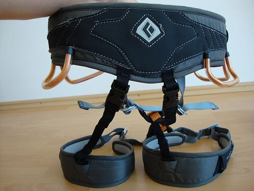 Black Diamond Momentum Ds Klettergurt : Black diamond easy rider via ferrata package
