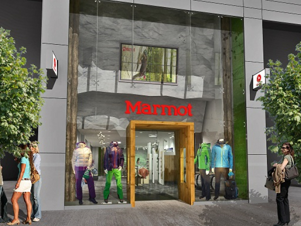 Neuer Marmot Store in London 2012