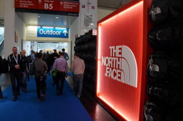 The North Face auf der ISPO