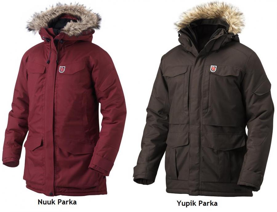 am besten bewertet neuesten großer Rabatt bester Service Winterjacken Fjällräven Yupik und Nuuk Parka