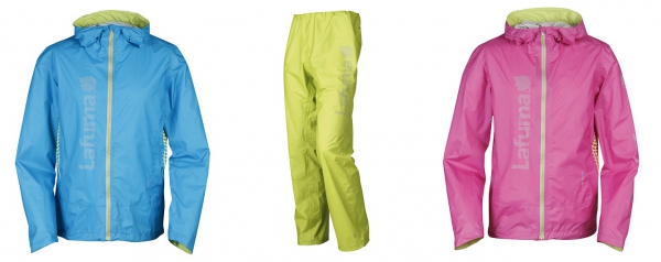 v.l.: SPEEDTRAIL JACKET Men, SPEEDTRAIL PANT und SPEEDTRAIL JACKET Women