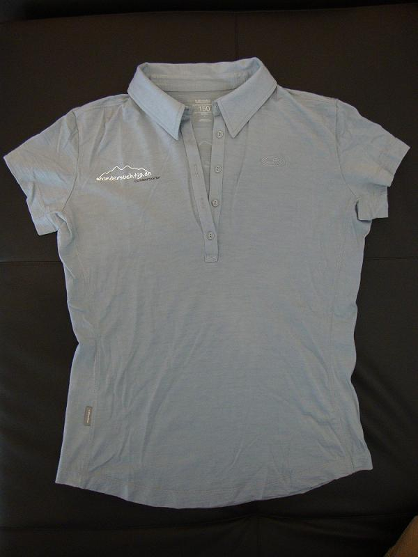 Funktionsshirt Icebreaker Club Polo Women Superfine 150