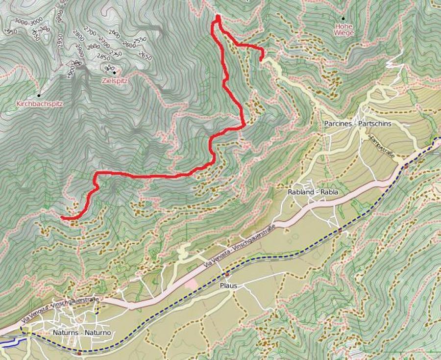 Klettersteig Unterstell : Funivia unterstell naturno naturns aktuelle lohnt es