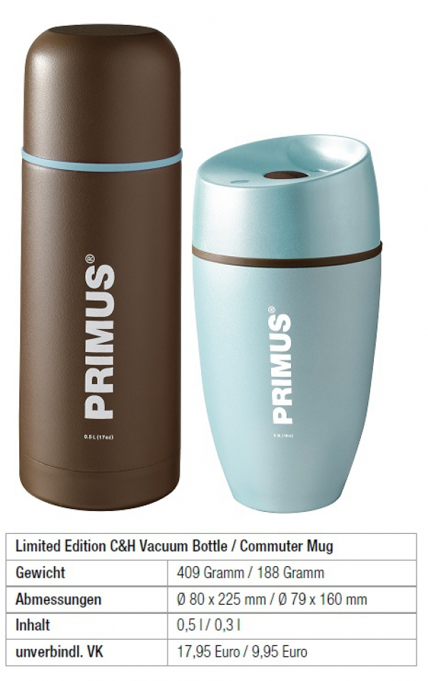 Primus C&H Vacuum Bottle und Commuter Mug in einer Limited Edition