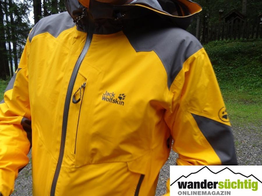 jack wolfskin winter rain jacket test