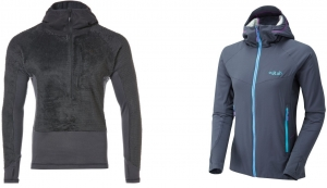 Rab Alpha Freak Pull-On und Rab Alpha Flux Jacket